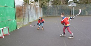 Court Hockey players 2
